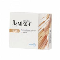 Купить Ламикон 0.25г табл. №14 в Краснодаре