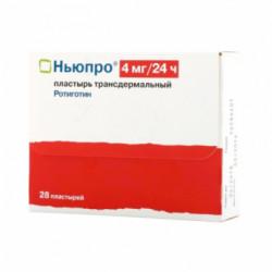 Купить Ньюпро (Neupro) Ротиготин пластырь 4мг №28 в Краснодаре