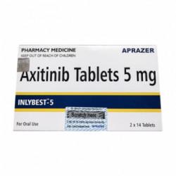 Купить Инлибест Акситиниб (Inlybest 5) :: Инлита аналог 5мг таблетки №28 в Краснодаре