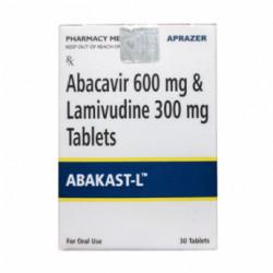 Купить Кивекса полный аналог :: Абакаст (Abakast L) таблетки 600 300мг №30 в Краснодаре