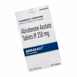 Купить Абиратерон :: Абиракаст (Abirakast) :: аналог Зитига 250мг таблетки №120 в Краснодаре