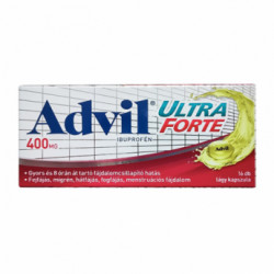 Купить Адвил ультра форте :: Advil ultra forte (Адвил Максимум) капс. №16 в Краснодаре
