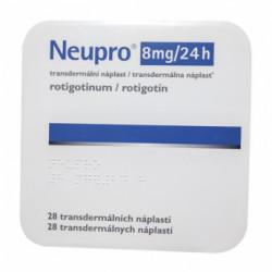 Купить Ньюпро Ротиготин (Neupro) пластырь трансдермальный 8мг №28 в Краснодаре