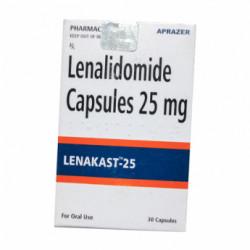 Купить Леналидомид/Ленакаст (Lenakast 25) :: Ревлимид аналог 25мг капс. №30 в Краснодаре