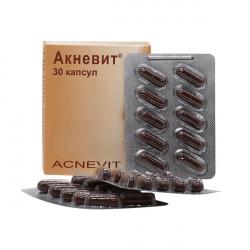 Купить Акневит (Acnevit) капс. №30 в Краснодаре