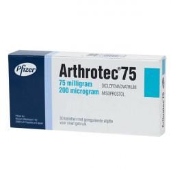 Купить Артротек таблетки 75мг+200мкг 30шт. в Краснодаре