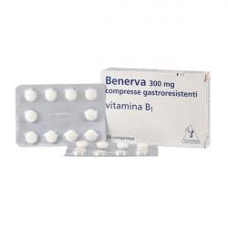 Купить Бенерва (тиамина хлорид в таблетках) 300мг №20 в Краснодаре