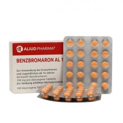 Купить Бензбромарон в таблетках 100мг №100 в Краснодаре
