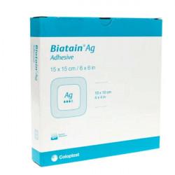 Купить Биатен Аг, Biatain Ag Alginate с серебром повязка 10х10см №1 в Краснодаре