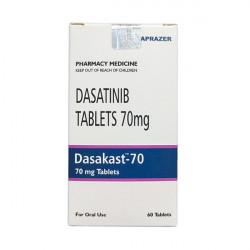 Купить Дазатиниб (Dasakast) :: полный аналог Спрайсел :: таблетки 70мг №60 в Краснодаре