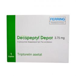 Купить Декапептил депо (Трипторелин) лиоф. для инъекций 3,75мг №1 в Краснодаре