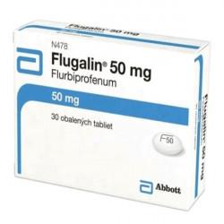 Купить Флугалин (Флурбипрофен) 50мг таблетки №30 в Краснодаре