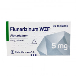 Купить Флунаризин (аналог Сибелиум) таб. 5мг №30 в Краснодаре