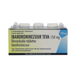 Купить Ибандронат Тева таблетки 150мг №3 в Краснодаре