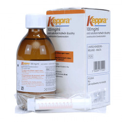 Купить Кеппра сироп 100 мг/мл 300 мл в Краснодаре