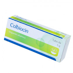 Купить Колбиоцин, глазная мазь  5г в Краснодаре