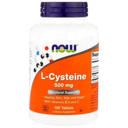 Купить L-цистеин (L-Cysteine) 500мг капс. №100 в Краснодаре
