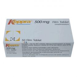 Купить Кеппра (Keppra) таблетки 500мг №50 в Краснодаре