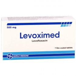 Купить Левоксимед (Levoximed) таблетки 500мг №7 в Краснодаре