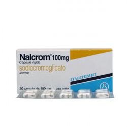 Купить Налкром (Nalcrom) в капсулах 100мг №20 в Краснодаре