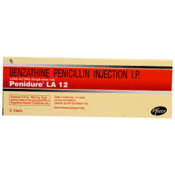 Купить Penidure (полный аналог Ретарпена и Экстенциллина) 1.2 млн МЕ №5 (5шт/уп) в Краснодаре