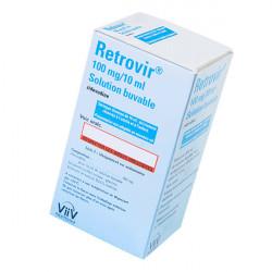 Купить Ретровир сироп для новорожденных 100мг/10мл флакон 200мл в Краснодаре