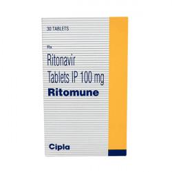 Купить Ритонавир (Ritomune : Ritomax) табл. 100мг №30 в Краснодаре