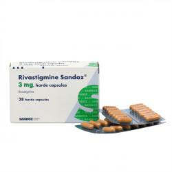Купить Ривастигмин (Actavis) капсулы 3мг №28 в Краснодаре