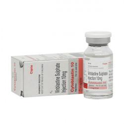 Купить Винбластин (Cytoblastin :: Uniblastin :: Chemoblast) лиоф. д/пригот. р-ра д/в/в введения 10мг/10мл фл. №1 в Краснодаре