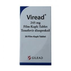 Купить Виреад (Viread) таблетки 245мг №30 в Краснодаре