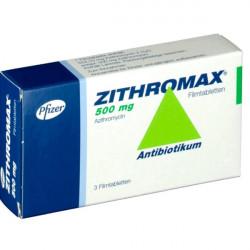 Купить Зитромакс таб. 500мг №3 в Краснодаре
